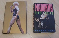 2 madonna books; madonna, the book, norman king & madonna unauthorized in Aurora, Illinois