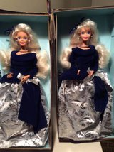 Barbie--Winter Velvet --(Set of 2) in Westmont, Illinois