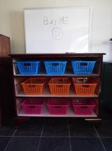 Dresser*Children Bin with Dry Erase Board*Solid Wood in Fort Leonard Wood, Missouri