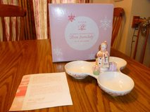 2003 President's Club Holiday Gift Collection Avon Snowlady dish. in Palatine, Illinois