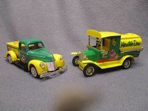 Mountain Dew Diecast Bank Delivery Trucks in Kansas City, Missouri
