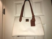 Dooney Bourke Purse Leather White in Fort Riley, Kansas