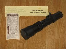 Vintage Spiratone 400MM f6.3 Preset Telephoto Lens in Vista, California
