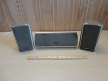 MAGNAVOX--2.1 Surround STEREO SPEAKERS SYSTEM(2 front +1 center) in Lockport, Illinois
