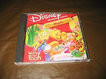 NEW Disney's Ready for Math with Winnie the Pooh Computer Game Ages 3-6! in Morris, Illinois