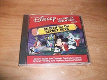 NEW Disney Learning Adventure Mickey Mouse Search for The Missing Keys CD-Rom PC Game in Yorkville, Illinois