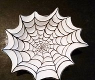 Halloween Spider Web Dish in Wheaton, Illinois