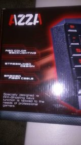 AZZA Red Color Backlighting Delta Gaming Keyboard in Roseville, California