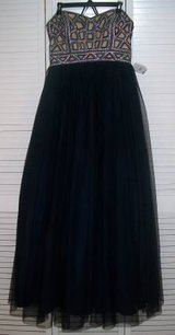 New!  Sz 13 Navy Blue Prom / Long Formal Dress - Blondie Nites in Bolingbrook, Illinois
