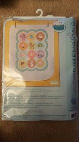 Dimensions Baby Hugs Happi Woodland Quilt Stamped Cross Stitch Kit in Macon, Georgia