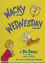 RARE 2002 Dr Suess Wacky Wednesday Hard Cover Children's Book Age: 3 - 7 * Grade: Pre-School - 2nd in Morris, Illinois