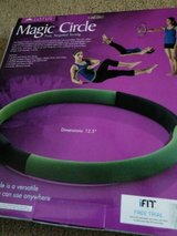 new! lotus magic circle ring sculpts tones entire body exercise chart included! in Plainfield, Illinois