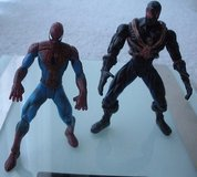 2 -marvel spiderman action figures, mint.  no accessories. in Lockport, Illinois