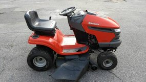 Husqvarna 46 inch cut Riding lawn mower in Hinesville, Georgia
