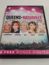 NEW Queens of Nashville DVD Carrie Underwood, Reba McEntire Faith Hill Taylor Swift Miranda Lambert in Morris, Illinois