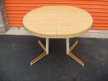excellent used condition expandable table with two legs light oak color 80379 in Huntington Beach, California