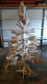6' Artificial White Christmas Tree in Fort Campbell, Kentucky