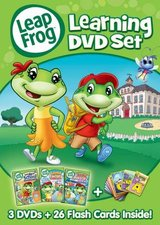 LEAPFROG LEARNING SET New 3 DVD Set Leap Frog - Make Learning Fun!! in Brookfield, Wisconsin