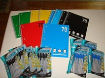 1 Subject Notebooks 70 Sheets College / Wide Ruled 10 Pack Pens NEW in Brookfield, Wisconsin