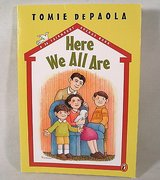 """Here We All Are"" Children's Hard Cover Book Sharing Family Childhood Memories Age 7 - 10 Grade ... in Plainfield, Illinois"