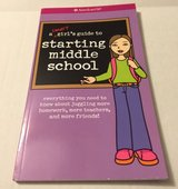 American Girl A Smart Girls Guide To Starting Middle School Paper Back Book in Joliet, Illinois