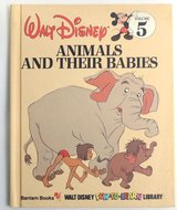 Walt Disney Vintage 1983 Animals and Their Babies Hard Cover Children's Book Age 6 - 11 * Grade ... in Joliet, Illinois