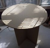 Table designed for table skirt (not included) in Algonquin, Illinois