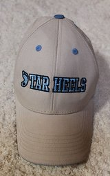 North Carolina Tar Heels Polyester/Cotton Tan Cap, Velcro Adjust Back - One Size in Joliet, Illinois