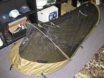 catoma bed net system  pop-up tent coyote brown usa usmc used buzzoff in 29 Palms, California