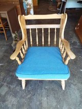 Chair*Antique*Spindle*Solid Wood in Fort Leonard Wood, Missouri