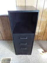 Cabinet*Metal*three drawers & Shelf in Fort Leonard Wood, Missouri