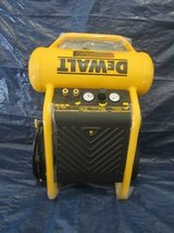 *DEWALT 1.6-HP 4.5-Gallon 200-PSI 120-Volt Vertical Portable Electric in Joliet, Illinois