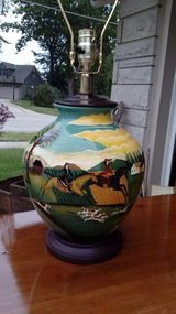Lamp with a Hunting Theme in Joliet, Illinois