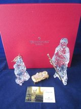 WATERFORD CRYSTAL Nativity Millennium Gold EXCELLENT in Boxes in Aurora, Illinois