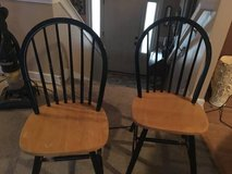 TWO WOOD CHAIRS in Manhattan, Kansas