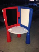Little Tikes Easel with Desk in Sandwich, Illinois