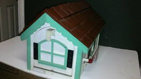 Personalized Wooden House Mailbox in Beaufort, South Carolina