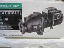 *Everbilt  1 HP Convertible Jet Pump in Joliet, Illinois