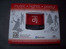 NEW IN BOX holiday dj party machine bluetooth speaker creates musical light show!!! in Orland Park, Illinois