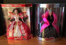 10th Anniversary 1997 and 1998 Happy Holidays Barbie - Special Edition – NRFB in St. Charles, Illinois