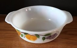 Fire King 1.5 Quart Round Covered Casserole No Lid in Fruit by Anchor Hocking in St. Charles, Illinois