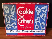 Vintage Sandwich Cookie Cutters For All Party Occasions Made of Metal in Chicago, Illinois