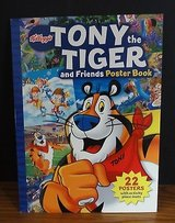 Kelloggs Tony The Tiger and Friends Poster Book New in Chicago, Illinois