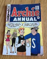 Archie Comics Annual No. 11 1959-60 Edition Giant Series Silver Age in Chicago, Illinois