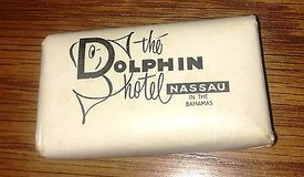 Vintage Bar of Soap from The Dolphin Hotel Nassau in the Bahamas Lever Brothers in Naperville, Illinois