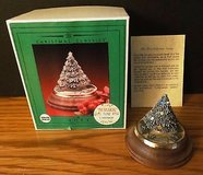 Pewter Christmas Tree Musical Figure Holiday Collectible by FORT in Chicago, Illinois