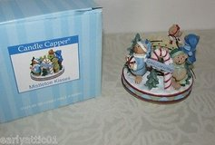 "NEW In Box Old Virginia Candle ""Mistletoe Kisses"" Candle Capper Christmas Candle Stopper in Joliet, Illinois"