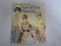 Vintage 1983 Little Golden Book One of the Family in Chicago, Illinois