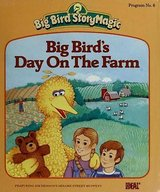 RARE 1985 Big Bird's Day on the Farm (Little Golden Readers) in Joliet, Illinois