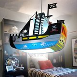 pirate ship child's room chandelier led lighting lamp in Greenville, North Carolina